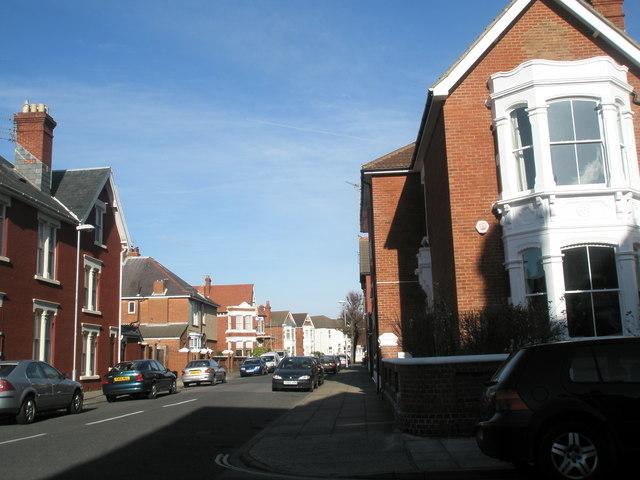 Southern end of Bembridge Crescent