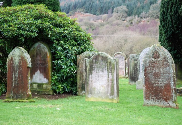 Weathered Gravestones at Southwick Cemetery.