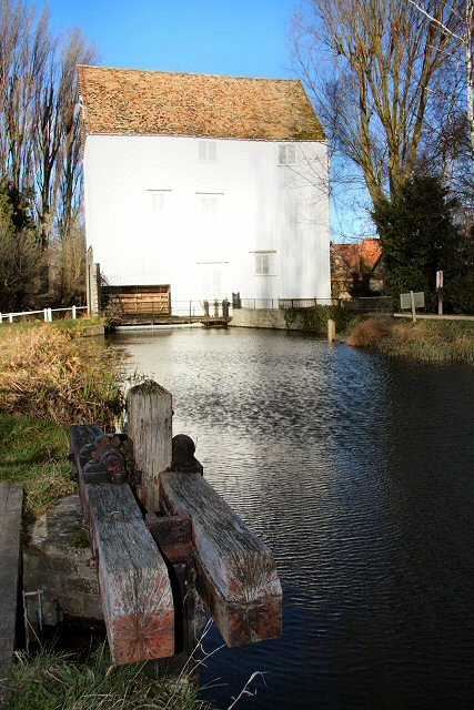 Lode Mill and sluice