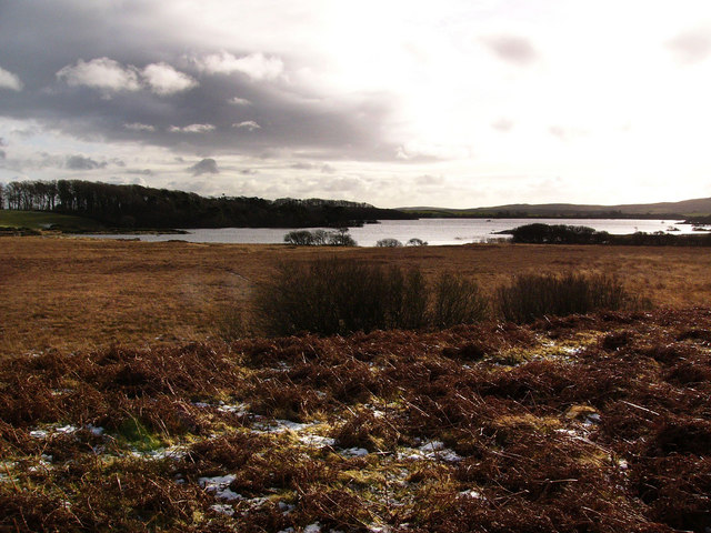 Mochrum Loch from the north