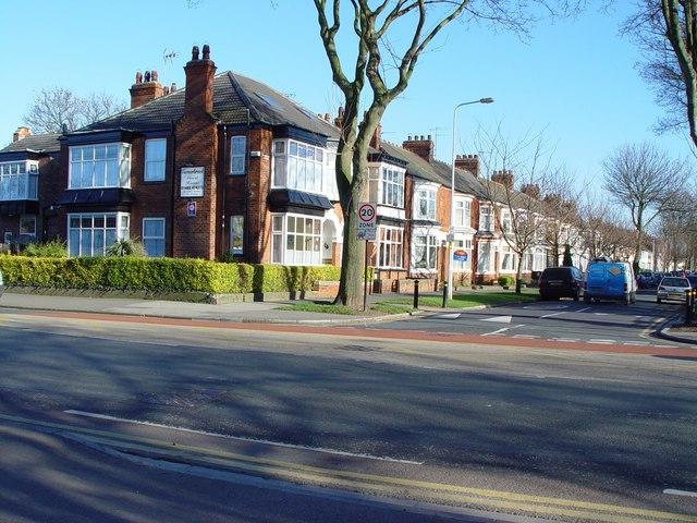Desmond Avenue - Beverley Road Junction