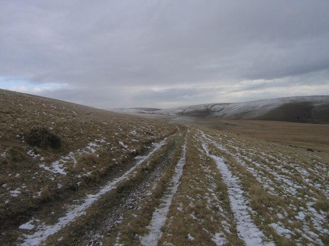 Ffordd Hanesyddol - Esgair Rhiwlan/ Ancient Road Esgair Rhiwlan