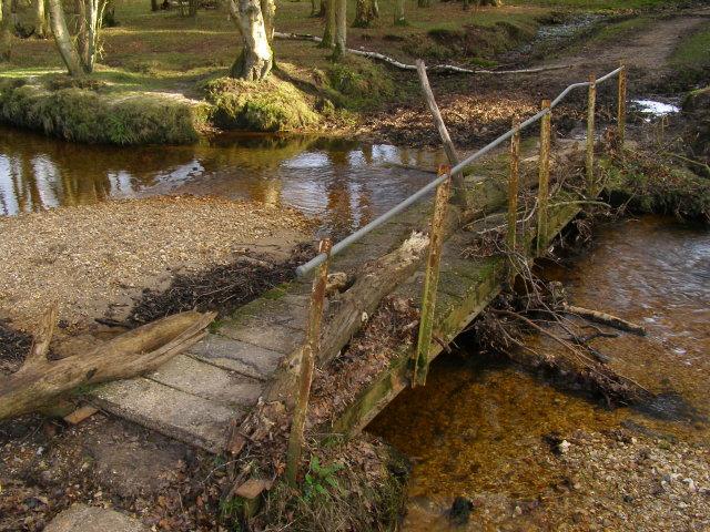Newlands Bridge across Dockens Water, New Forest