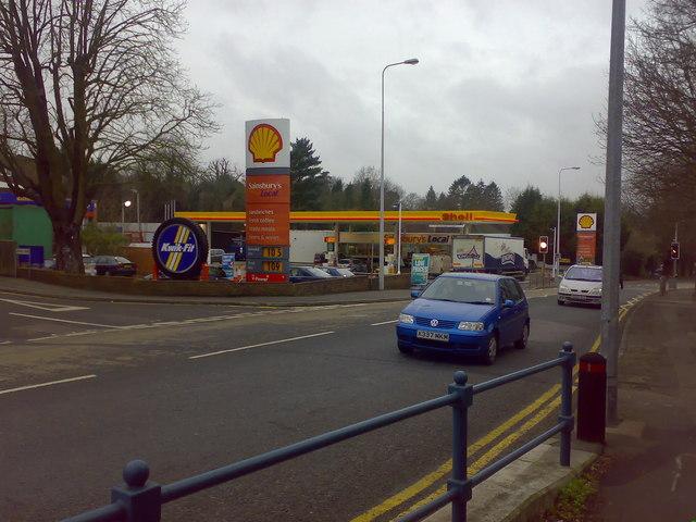 Petrol Station, London Road, Sevenoaks