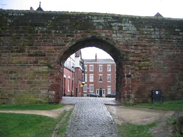 Archway through the city walls