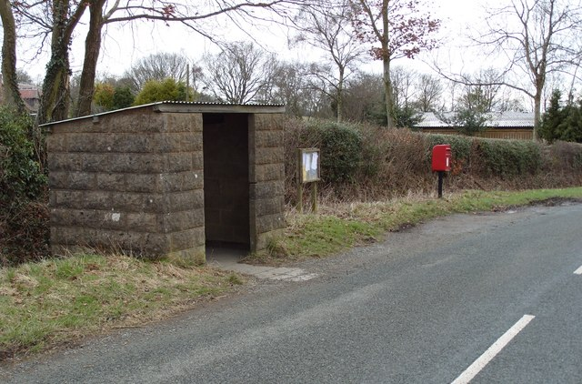 Hill Houses Bus Stop
