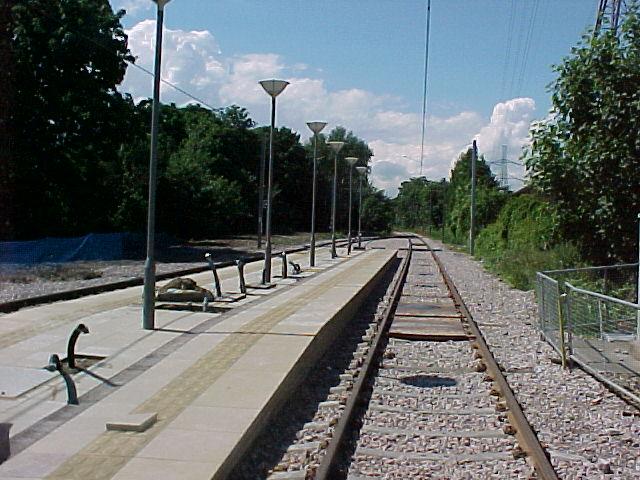 Phipps Bridge Tram Stop - under construction
