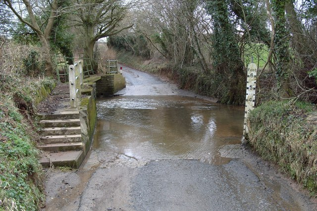 Ford Through Farlow Brook