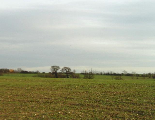 Farmland near Offord D'Arcy