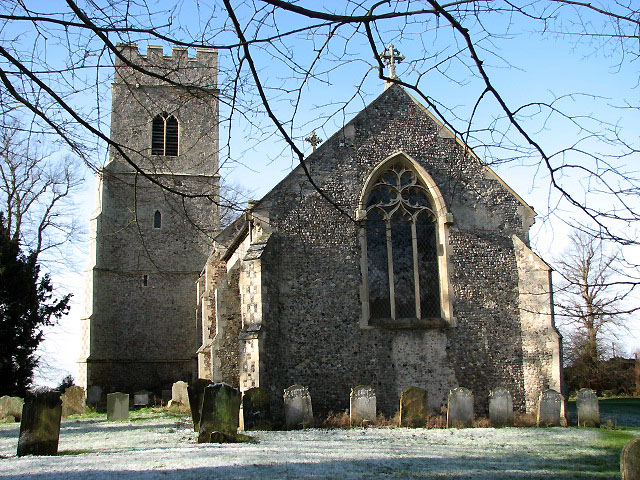 The church of St Andrew and All Saints
