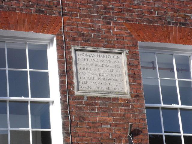 Thomas Hardy Locations, Apprenticeship (2)