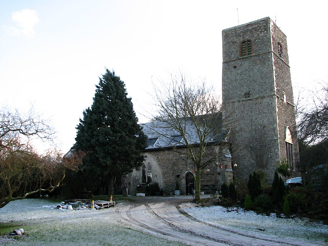 The former St James' Church