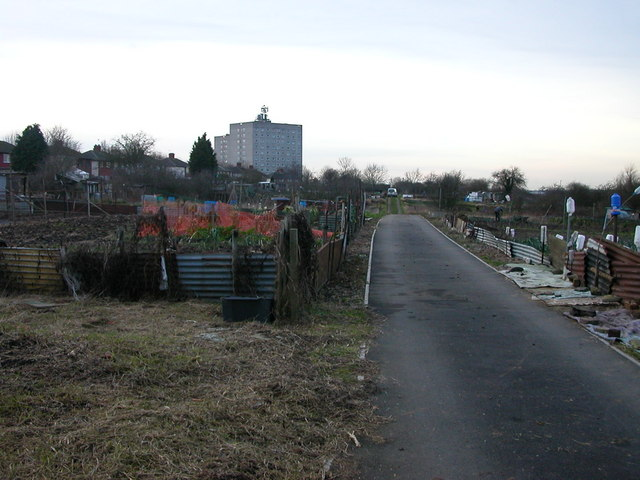 Rugby-Clifton Road Allotments