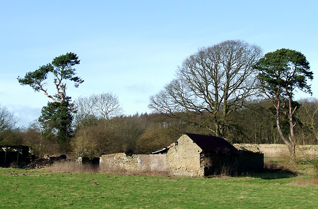 Derelict Barns north of Munslow, Shropshire
