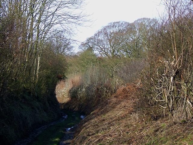 Unsurfaced Lane north of Munslow, Shropshire