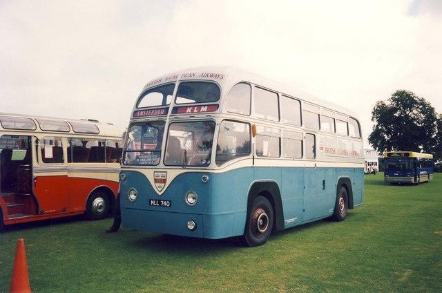 Ex-British European Airways Bus