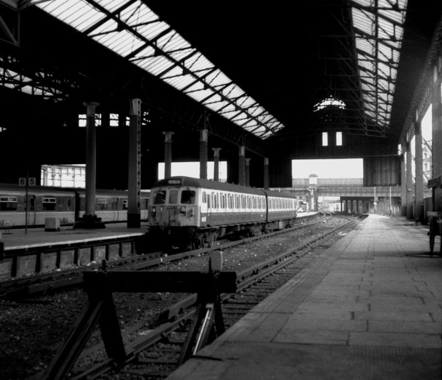 Platform 5 Manchester Victoria Station U00a9 Dr Neil Clifton  Geograph Britain And Ireland