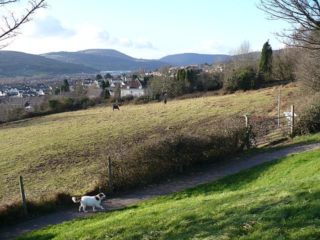 View towards Rogerstone