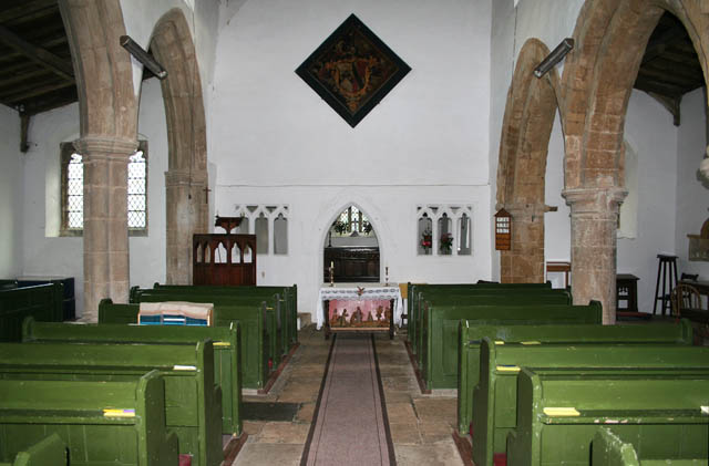 The Nave, St Michael and All Angels', Eastwell