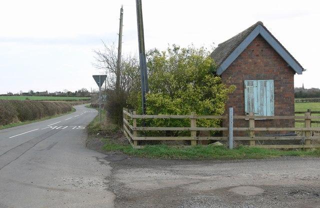 South along Shenton Lane