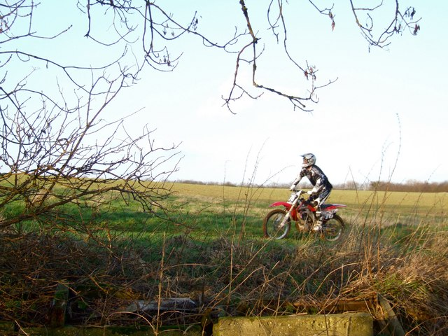 Motorcyclist, Old Bolingbroke