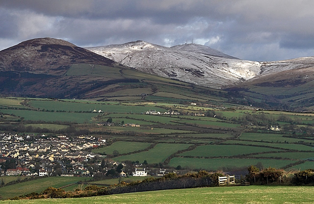 Snaefell from The Braaid