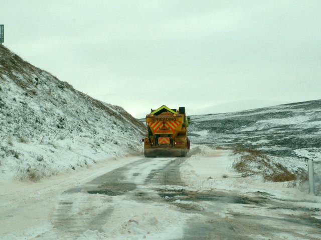 Road gritter to the rescue