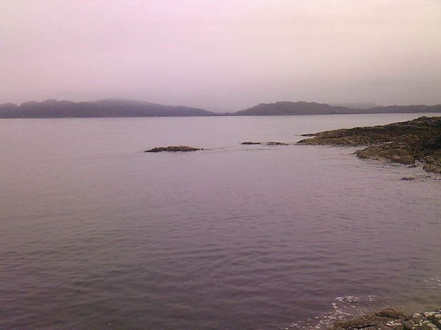 Looking out to Moidart