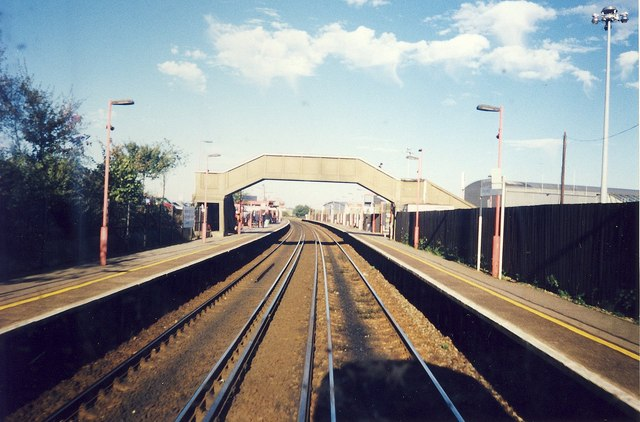 Southampton Airport Parkway Station.