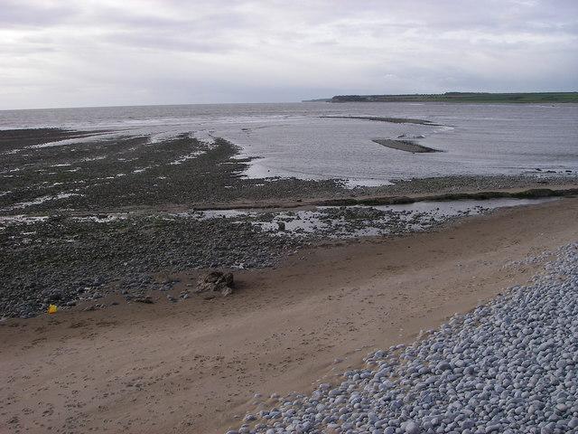 Flood-tide at Breaksea Point