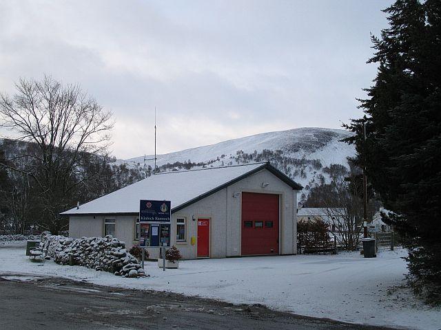 Kinloch Rannoch Fire Station