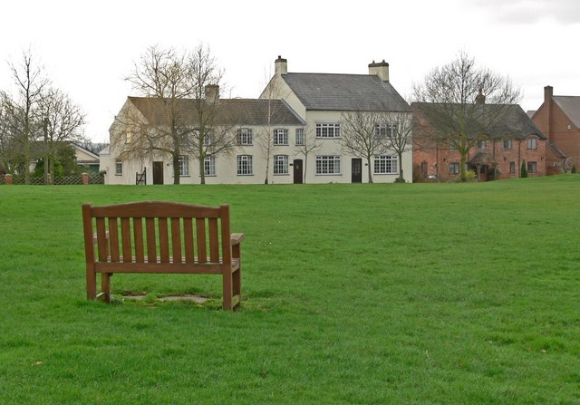 The Green in Dadlington, Leicestershire
