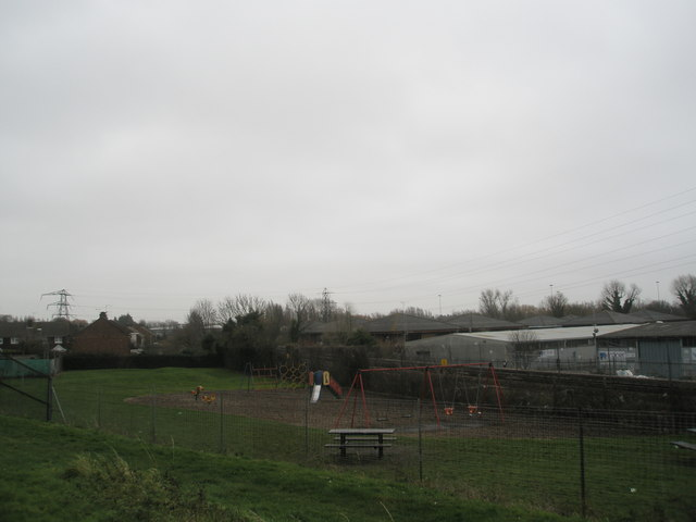 Playground at western end of Medina Road