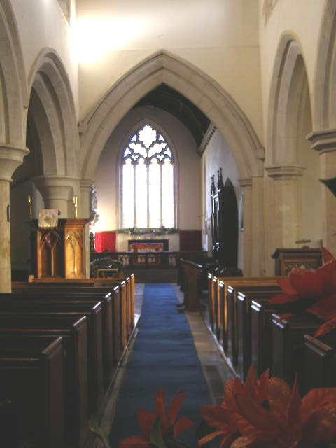 Nave of St Mary's church