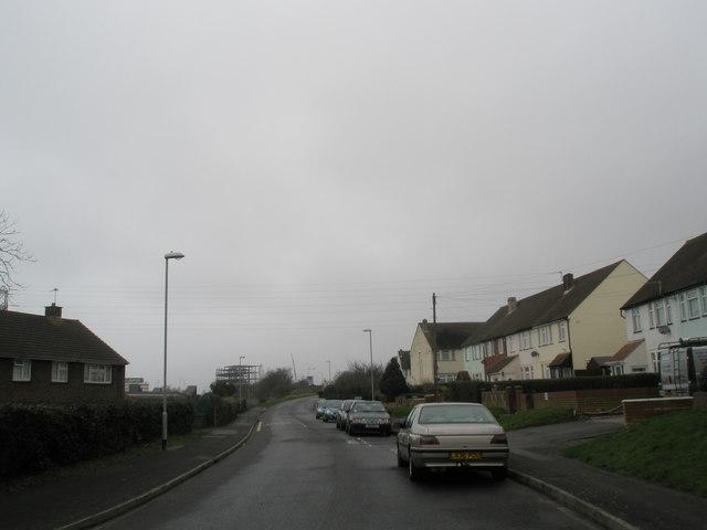 Western end of Medina Road