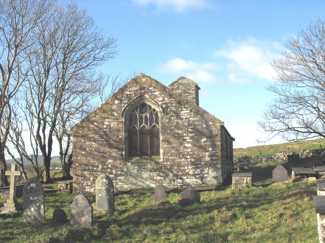 St Beuno's Church, Carnguwch from the East