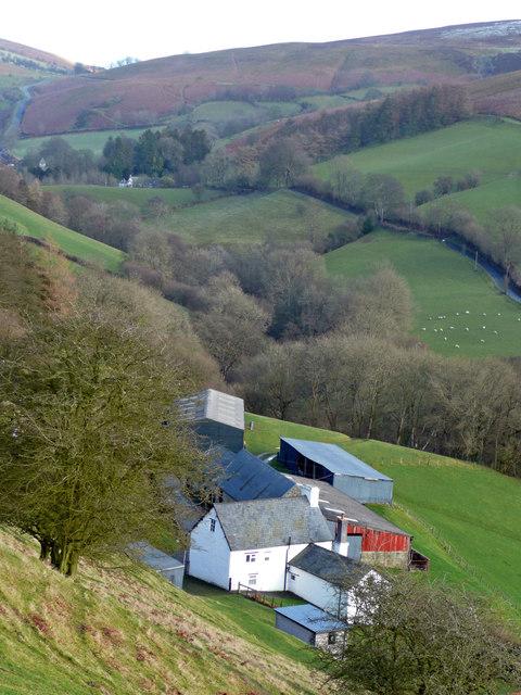 Gellidywyll and the Glascwm valley