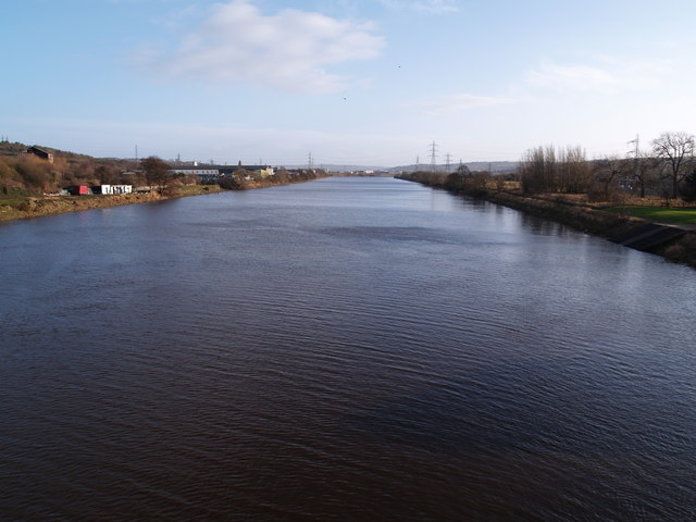 The Tyne from Newburn Bridge
