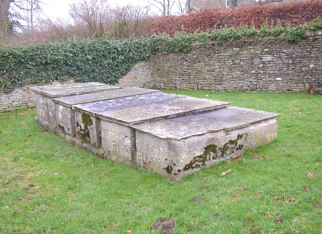 Chest tombs, Farfield Friends' Meeting House, Bolton Road (B6160), Addingham