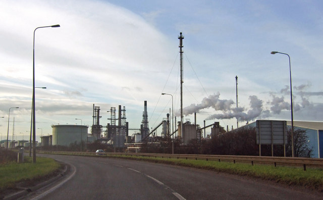 Conoco Oil Refinery