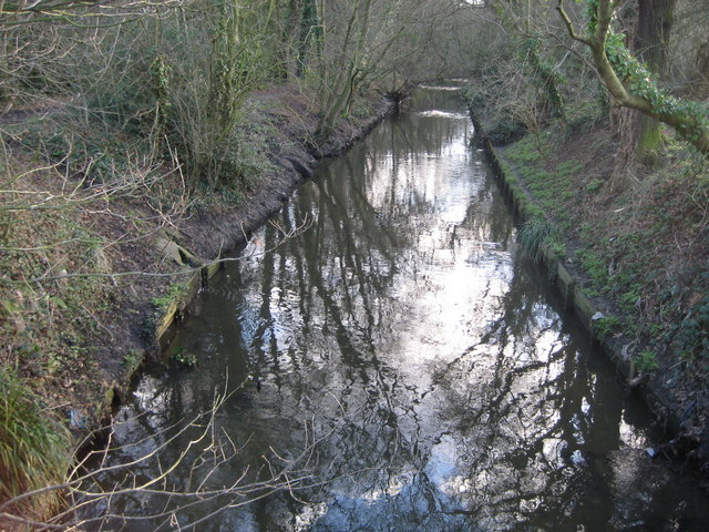 Beverley Brook on Wimbledon Common