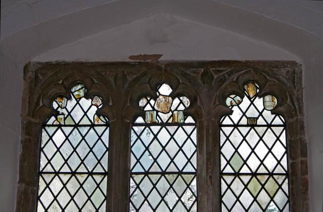 Window detail, Eastwell church
