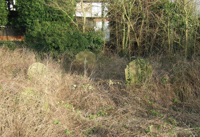 Overgrown Graves at the Old Baptist Chapel