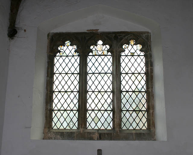 North aisle window, Eastwell church