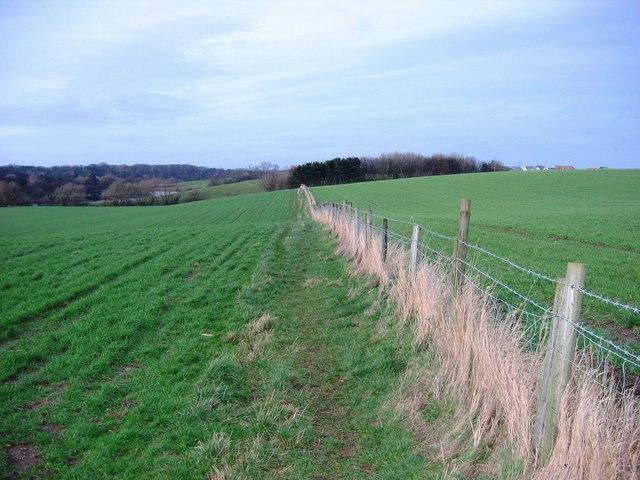 Bridleway to Barwick Farm