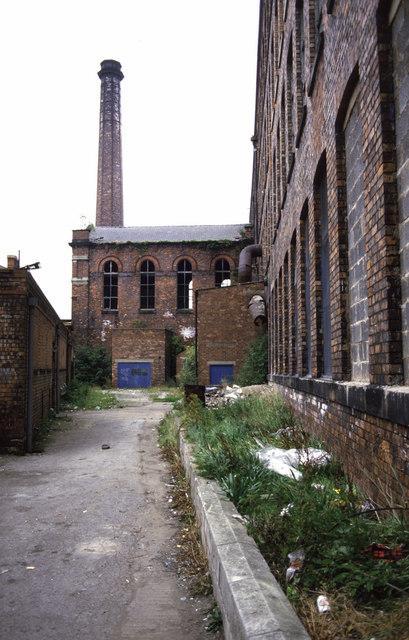 Derelict engine house, Wigan