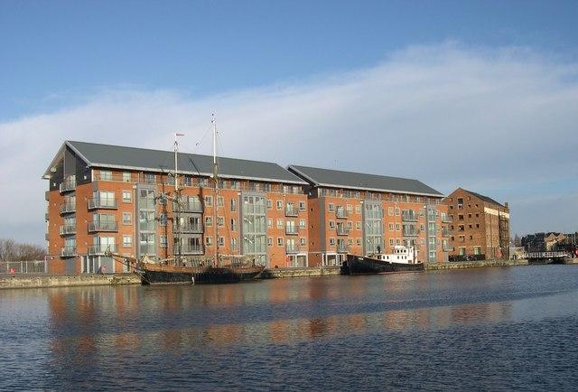 Flats, Gloucester Docks