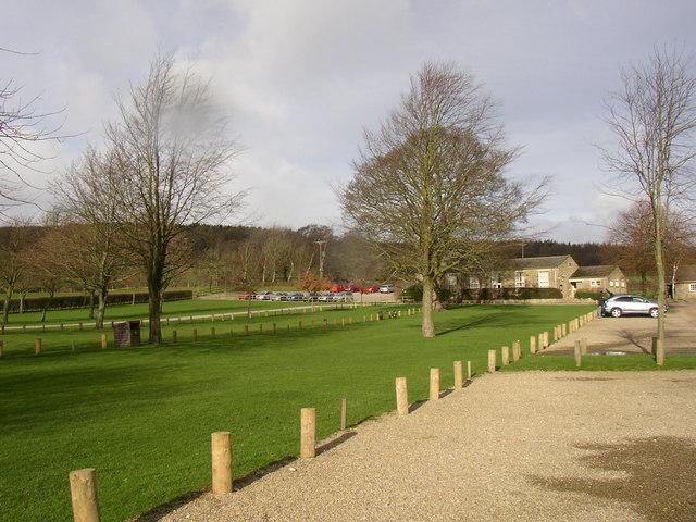 The car park, Bolton Abbey