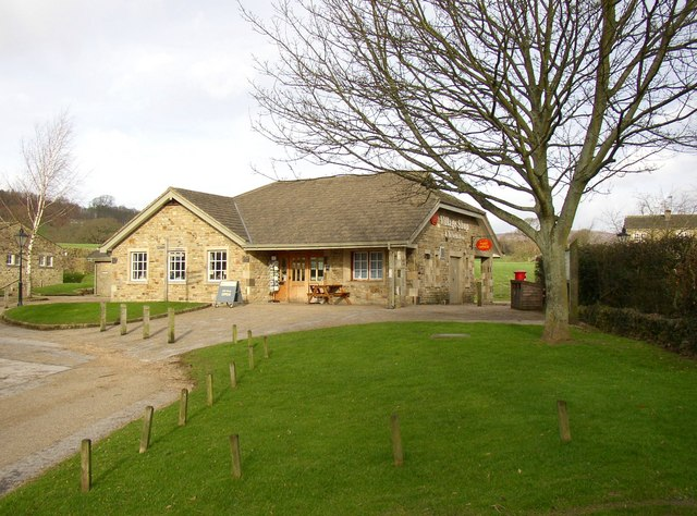 The village shop and post office, Bolton Abbey