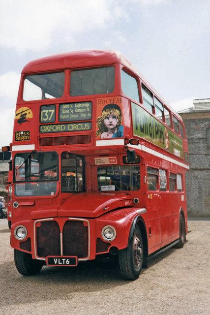 Routemaster RM6 at Chatham Historic Dockyard, Kent